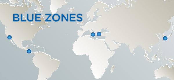 SECRETS TO WELLNESS & DIETARY SUCCESS FROM BLUE ZONES