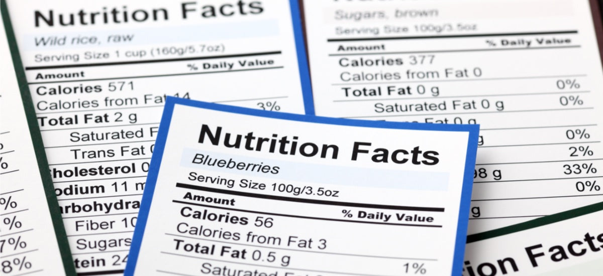 WHAT FACTS YOU NEED TO KNOW ABOUT NUTRITION LABELS