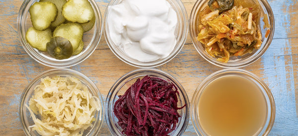 THE HEALTH BENEFITS OF 6 FERMENTED FOODS TO ADD TO YOUR DIET