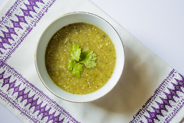 SPICY TOMATILLO & JALAPEÑO SOUP