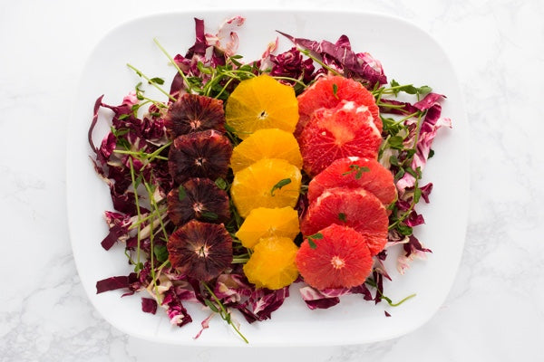 WINTER CITRUS SALAD WITH MISO VINAIGRETTE