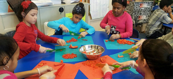 INSPIRING HEALTHY EATING AS A WAY OF LIFE FOR KIDS
