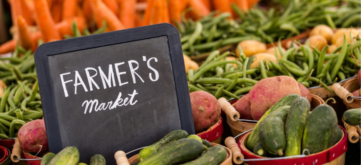 4 REASONS WHY FARMERS' MARKETS BOOST HEALTH, BODY AND SOUL