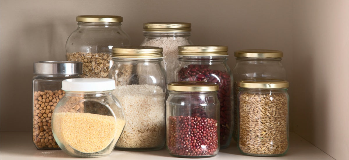 4-STEP PLAN FOR A HEALTHY PANTRY MAKEOVER