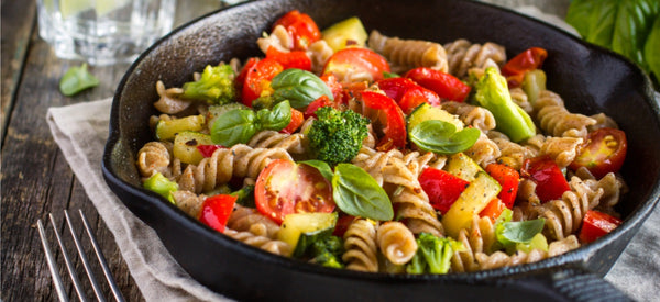 EASY WAYS TO MAKE YOUR PASTA HEALTHIER! (VEGAN FRIENDLY)