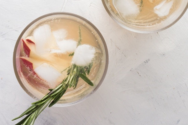 PEAR & GINGER SHRUB MOCKTAIL
