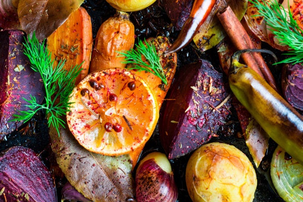 SIMPLY DELICIOUS ROASTED ROOT VEGETABLES