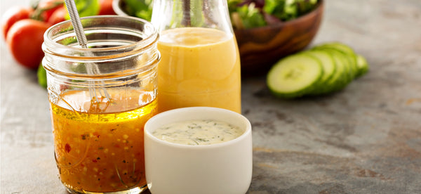 A GUIDE TO CREATE HOMEMADE VEGAN DRESSINGS YOU'LL LOVE