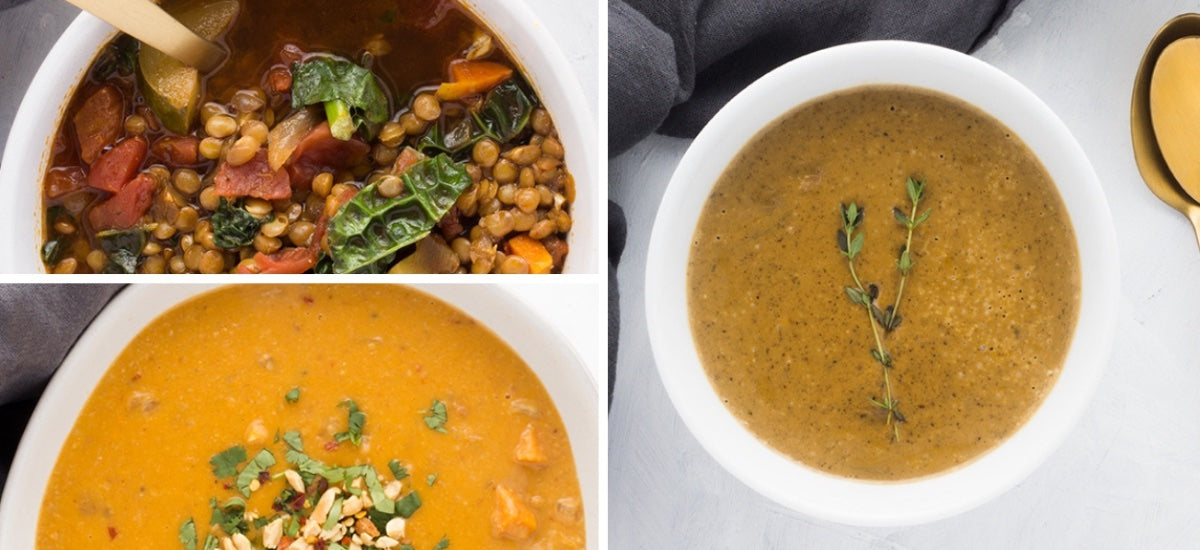 OUR FAVORITE PLANT-BASED SOUP TIPS (AND RECIPES)