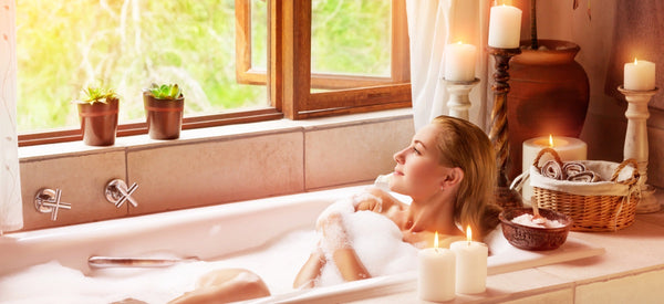 SEVEN WAYS TO MAKE YOUR OWN AT-HOME SPA SANCTUARY