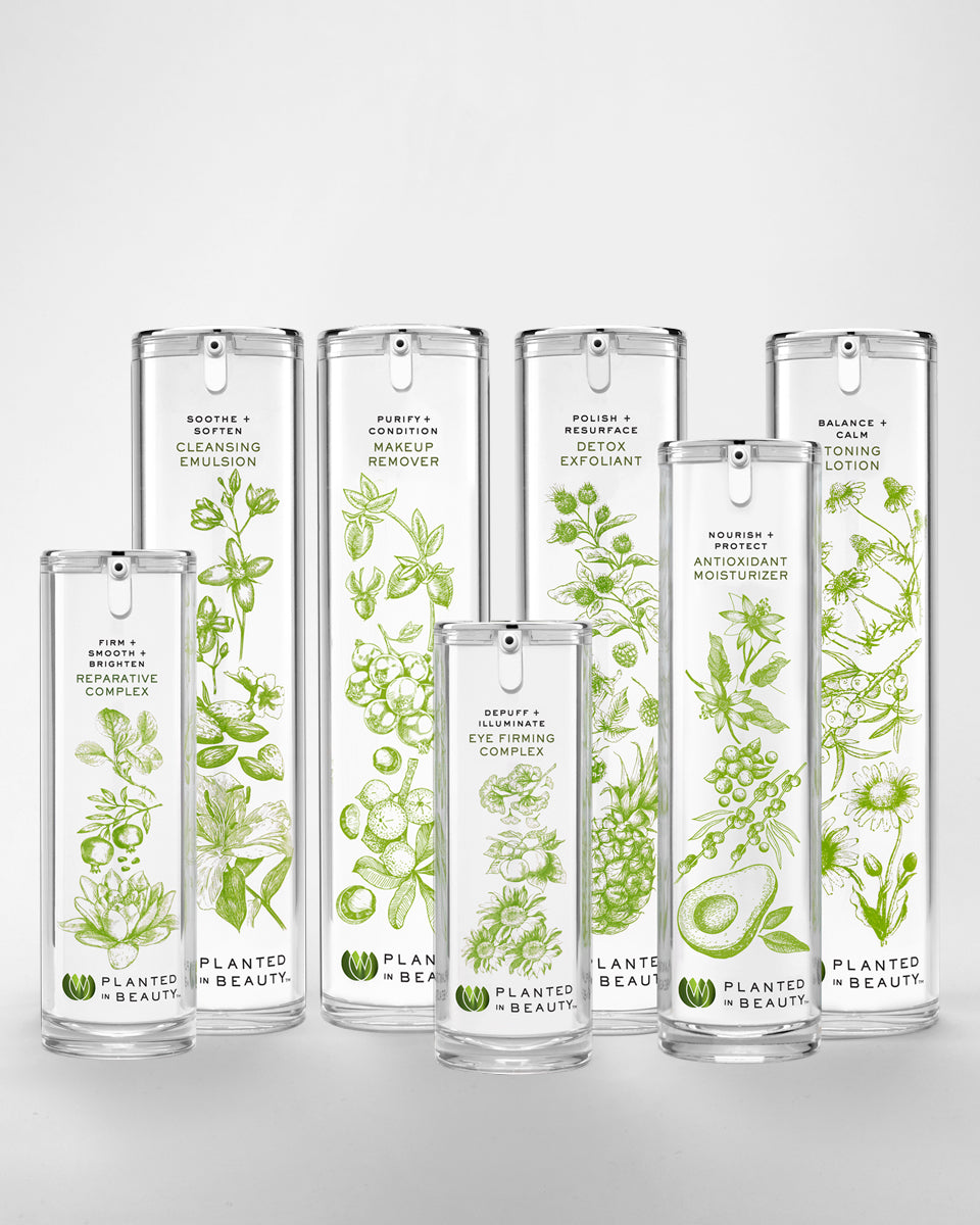 PLANTED IN BEAUTY SKINCARE COLLECTION SET