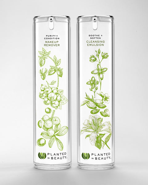 PLANTED IN BEAUTY DOUBLE CLEANSE SET