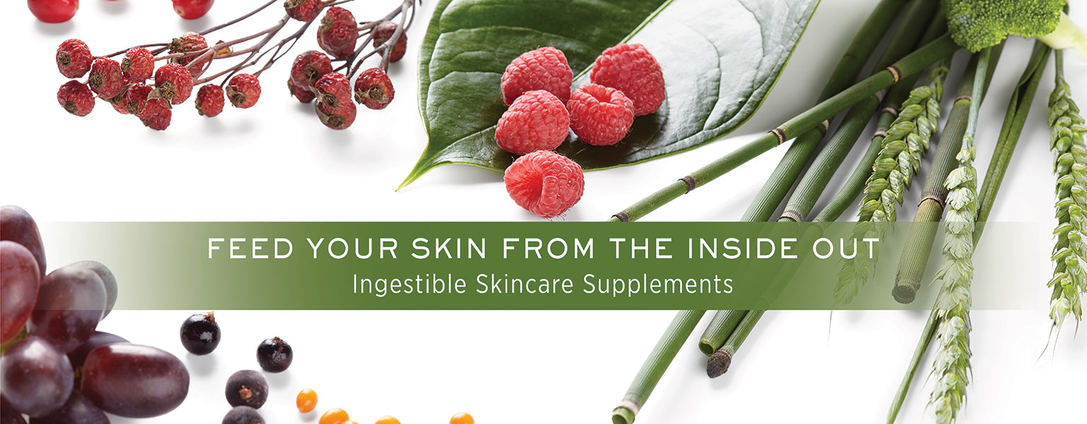FEED YOUR SKIN FROM THE INSIDE OUT