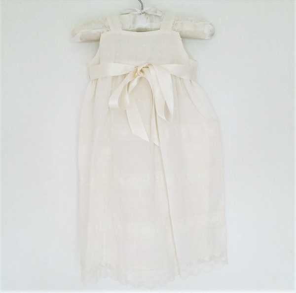 Christening robe - size 0-6M only