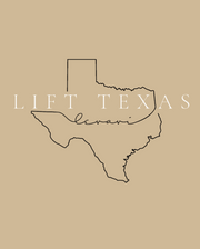 LIFT TEXAS Oversized Tee
