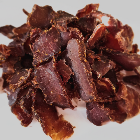 Pepper Biltong (Shaved Beef Steak)