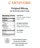 Sliced Biltong - 2 lb (Monthly Subscription)