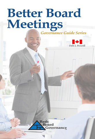 Better Board Meetings (Governance Guide)