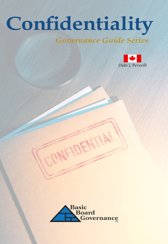 Confidentiality (Governance Guide)