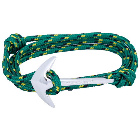 NYLON JAMAICA GREEN Silver anchor