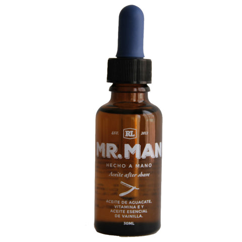 Mr Man - Aceite After Shave - BuenaBarba.com