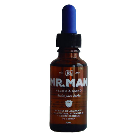 Mr Man - Aceite para Barba Fresh - BuenaBarba.com