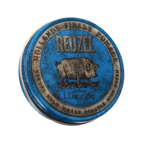 Reuzel - Blue Strong Hold Pomade Chica