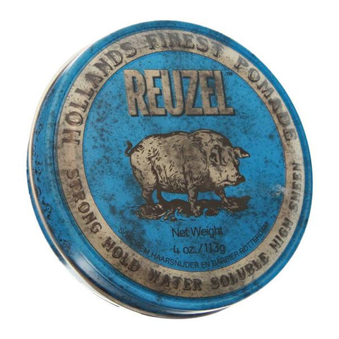 Reuzel - Blue Strong Hold Pomade Mediana