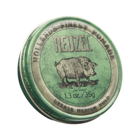 Reuzel - Green Pomade Grease Chica