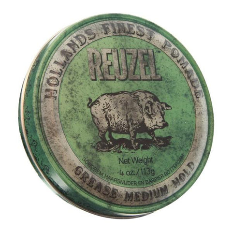 Reuzel - Green Pomade Grease Mediana