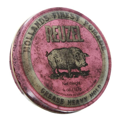 Reuzel - Pink Heavy Grease Pomade Mediana