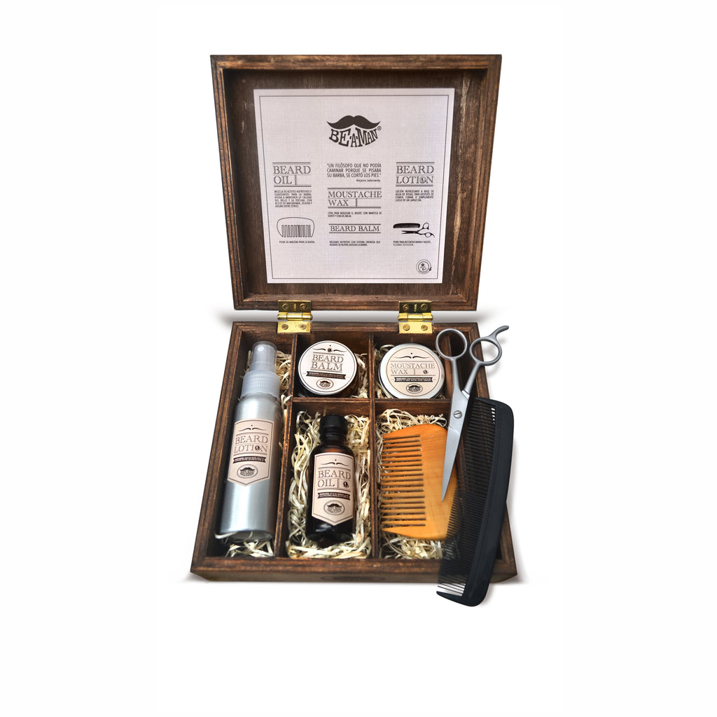 Be A Man - Kit para Barba - BuenaBarba.com