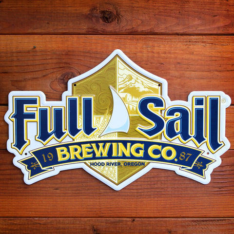 Full Sail Metal Sign