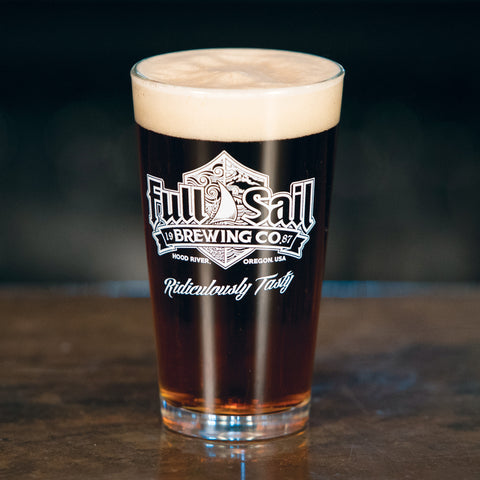 16 oz. Full Sail Pint Glass
