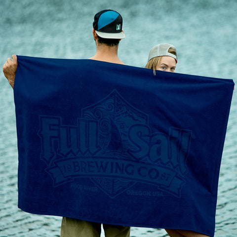 Full Sail Blue Beach Towel