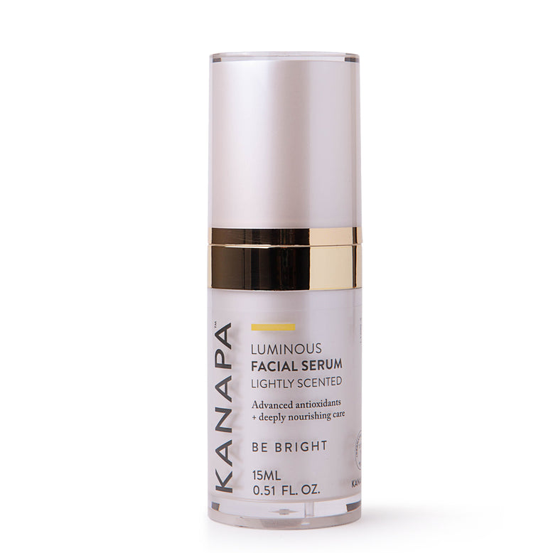 Buy our Luminous Facial Serum 15ml online now in the United States - An ultra-hydrating facial serum with hyaluronic acid and stem cell technology for powerful anti-aging results. Firmer, brighter, younger looking skin.