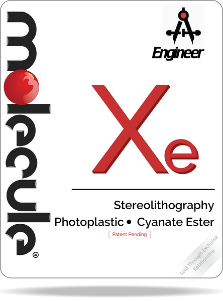 Xe Photoplastic Cyanate Ester