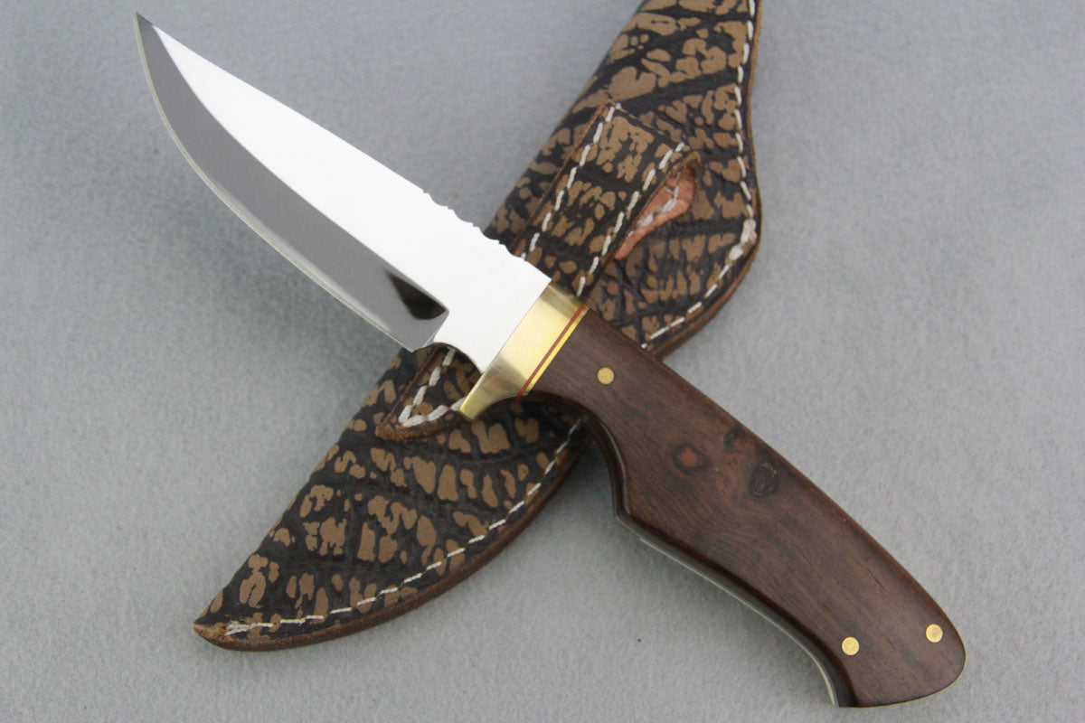 Mackrill Large Hunter - Ivory Wood & Hippo Tooth