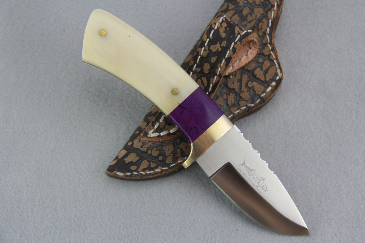 Mackrill Sugarlite & Giraffe Bone Skinner