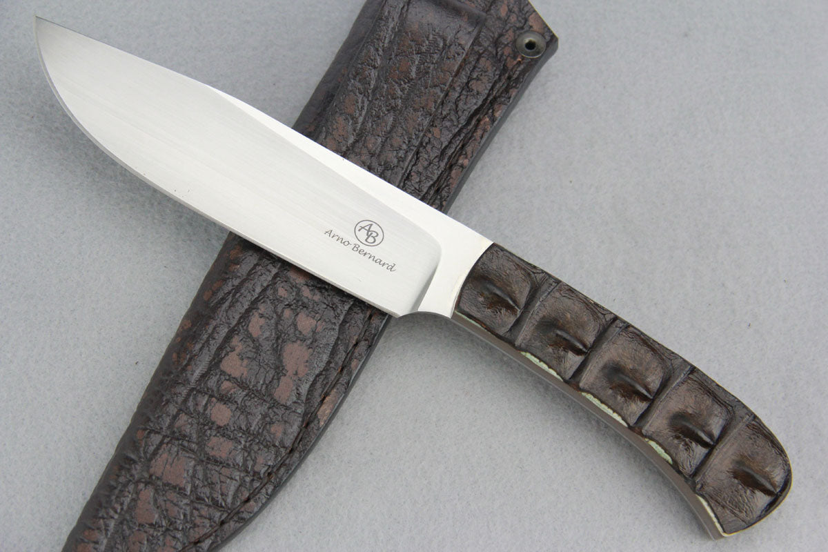 Arno Bernard - Elephant Model w/Crocodile Hide Handle - 1112