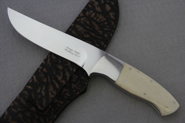 George Muller Large Fixed Blade - Giraffe Bone - 4