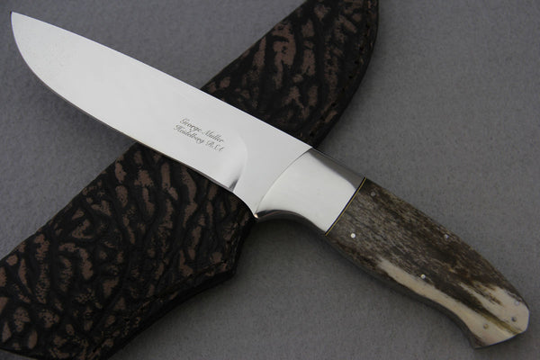 George Muller Large Fixed Blade - Giraffe Bone