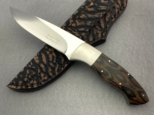 George Muller Fixed Blade - Micarta