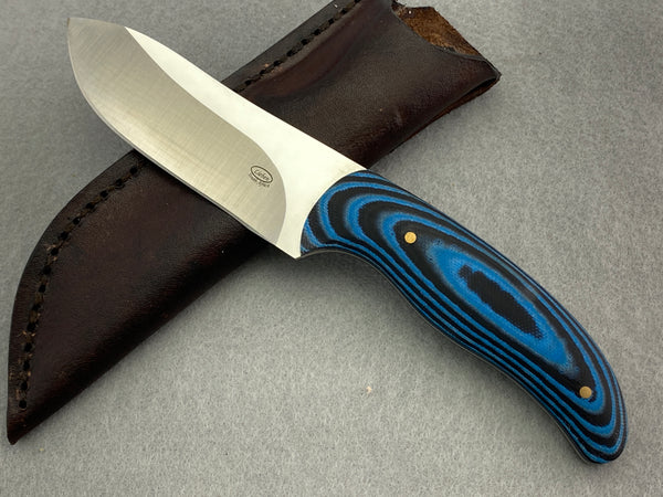 Lieb van der Sandt Fixed Blade - Blue/Black G10