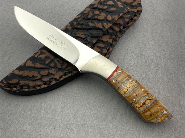 George Muller Fixed Blade - Mammoth Molar