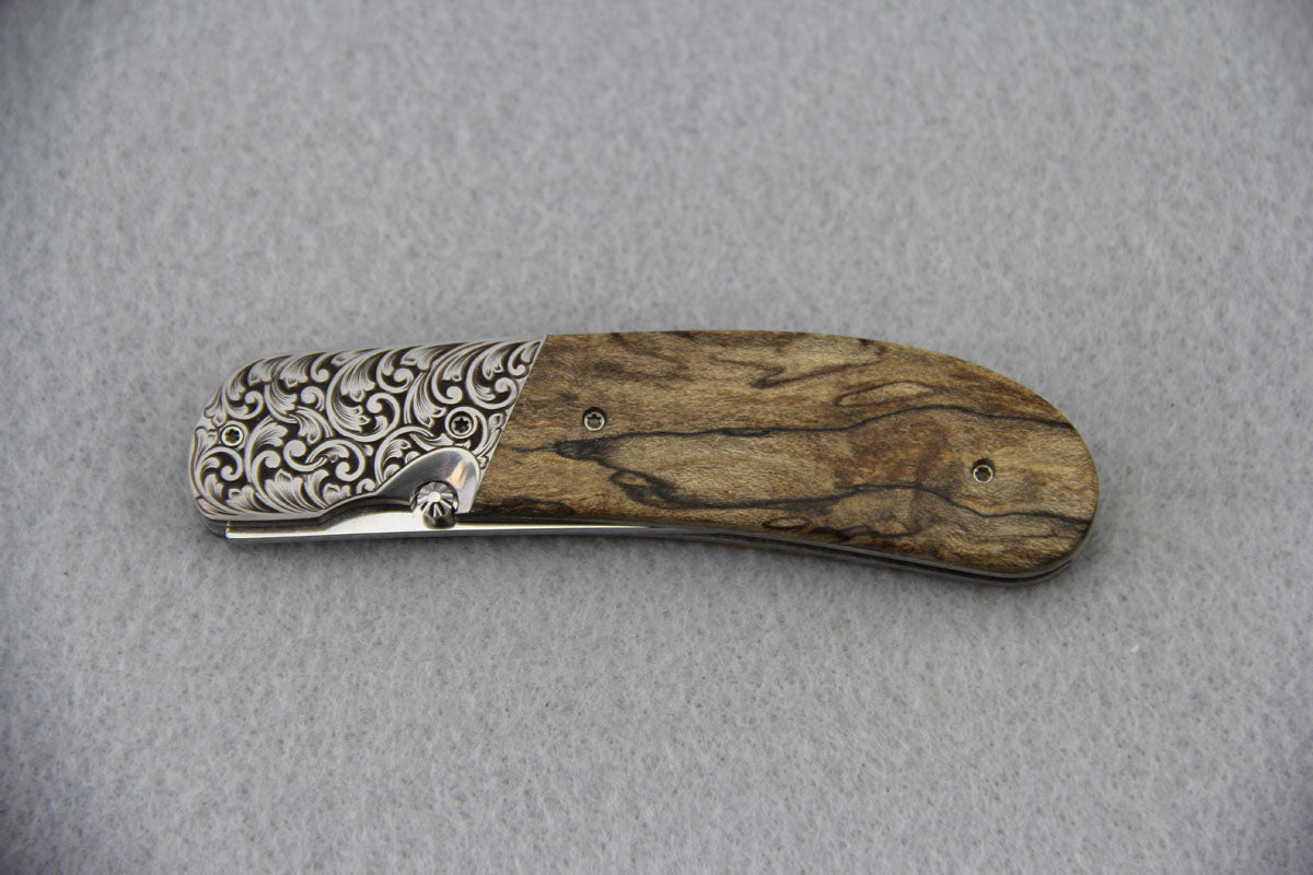 Lourens Prinsloo Spalted Maple Folder