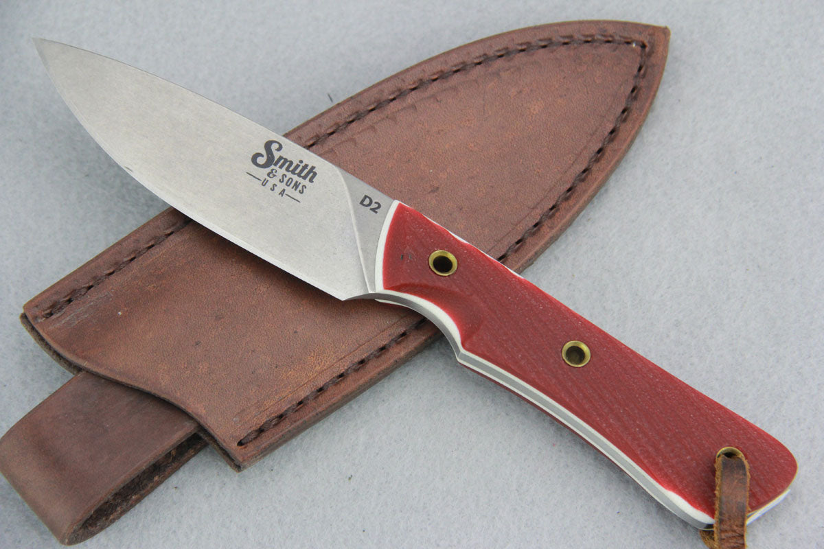 Smith & Sons - BRAVE MODEL w/ Red & White G10