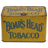 "Uncommon ""Boars Head"" store counter tin, Pritchard and Burton (c 1910) - Selective Salvage"