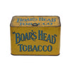 "Uncommon antique ""Boars Head"" store counter tin, Pritchard and Burton (c 1910) - Selective Salvage"