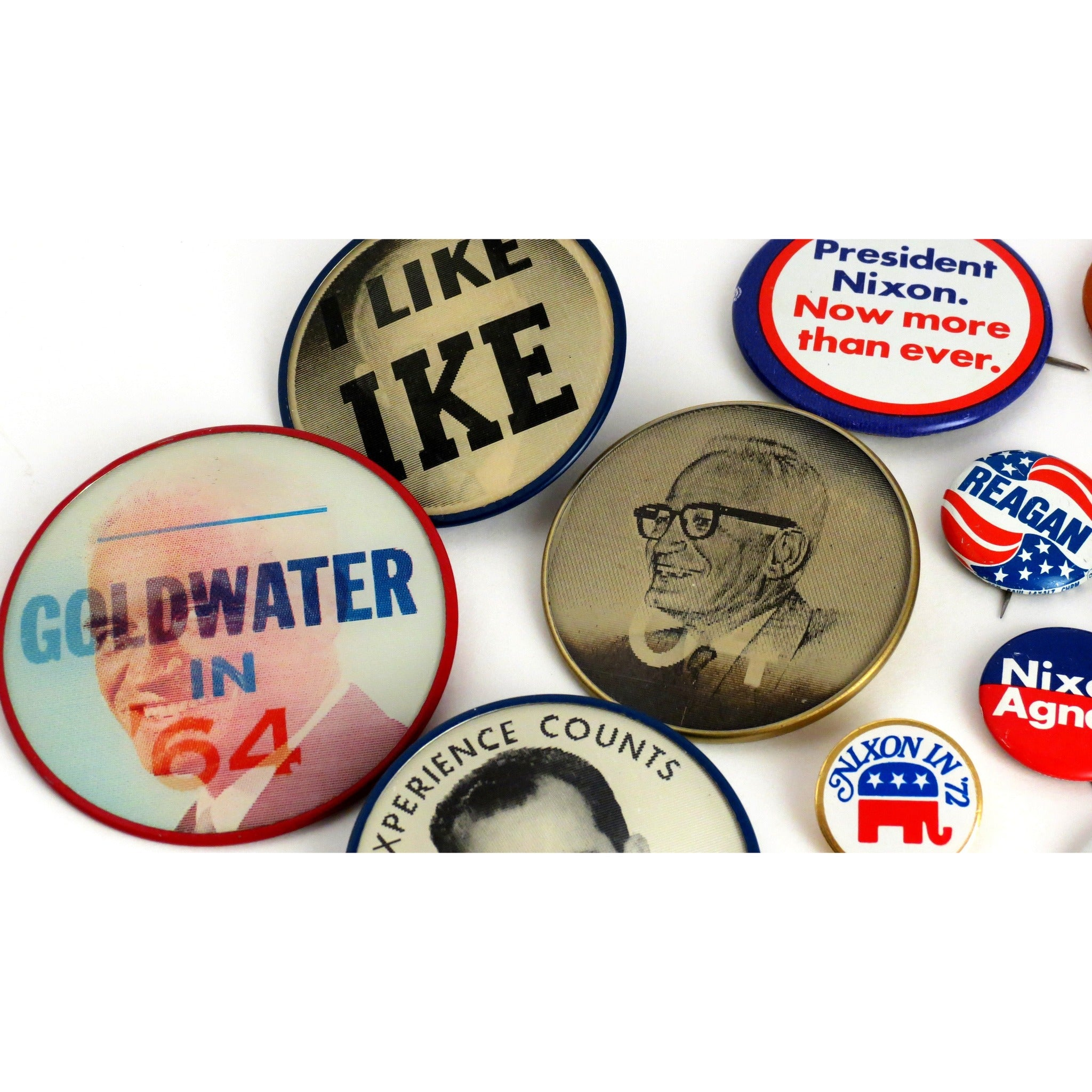 Vintage Lot of 50 1960 Campaign Buttons RN Richard Nixon Is your name Nixon?